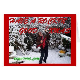 ROY STONE CHRISTMAS CARD