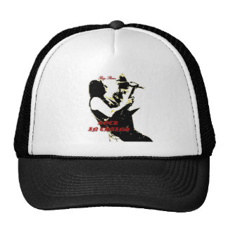 ROY STONE ROCK IN CHAINS LOGO HAT