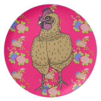 Roy the Rooster Plate