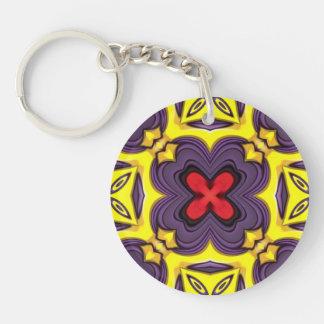 Royal   Acrylic Keychains, 6 styles Double-Sided Round Acrylic Key Ring