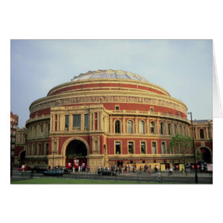 Royal Albert Hall, London, England, U.K. Card