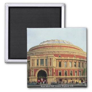 Royal Albert Hall, London, England, U.K. Square Magnet