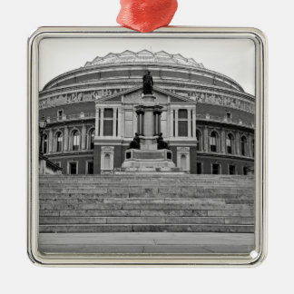 Royal Albert Hall London Silver-Colored Square Decoration