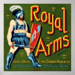 Royal Arms Citrus Poster