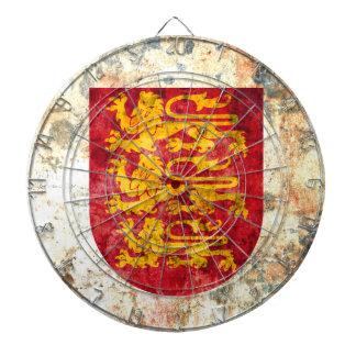 Royal Arms of England Dartboard