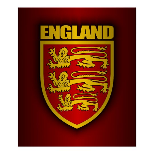 Royal Arms of England Poster
