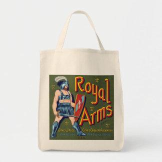 Royal Arms Grocery Tote Bag