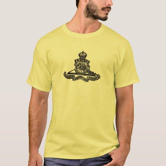 Royal Artillery Cap Badge (World War 2) T-Shirt