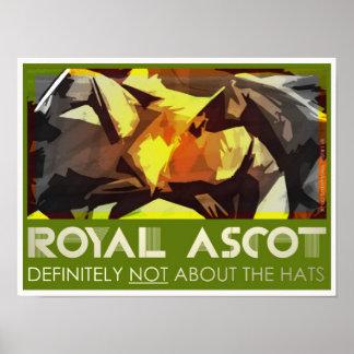 Royal Ascot classic poster/print