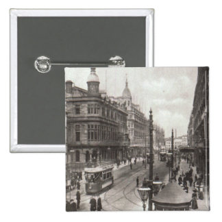 Royal Avenue, Belfast, c.1900 15 Cm Square Badge