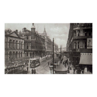 Royal Avenue, Belfast, c.1900 Poster