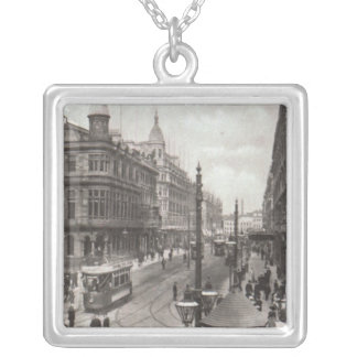 Royal Avenue, Belfast, c.1900 Silver Plated Necklace