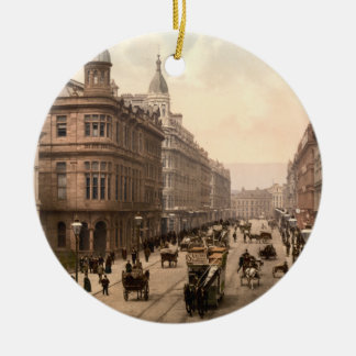Royal Avenue, Belfast, Northern Ireland Christmas Ornament