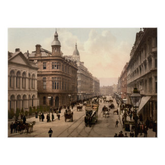 Royal Avenue Belfast Print