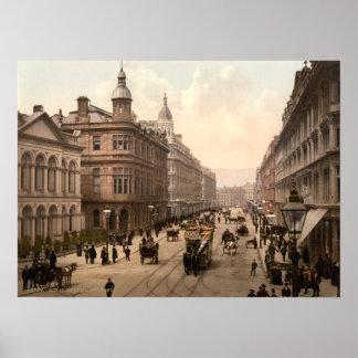 Royal Avenue Belfast Print
