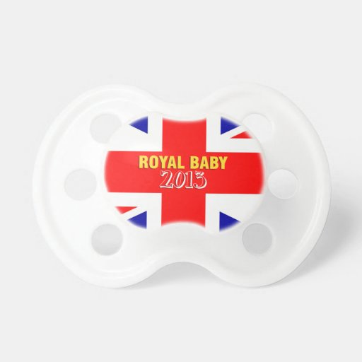 Royal Baby 2013 Union Jack Pacifier