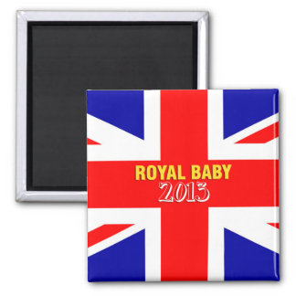 Royal Baby 2013 Union Jack magnet