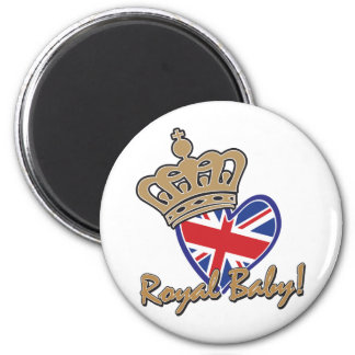 Royal Baby 6 Cm Round Magnet