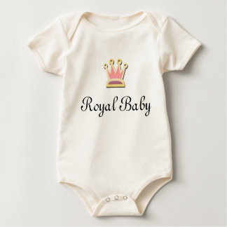 Royal Baby Baby Bodysuit