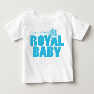 Royal Baby Blue Baby T-Shirt
