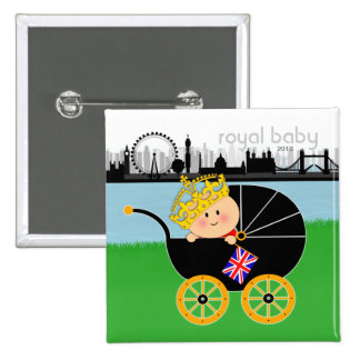 Royal Baby Button