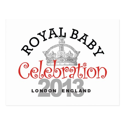 Royal Baby Celebration Post Cards