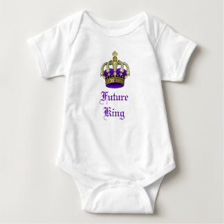 Royal Baby Crown Future King Creeper