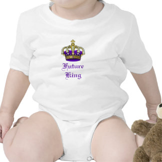 Royal Baby Crown Future King Creeper Baby Bodysuit