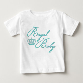 Royal Baby in Blue With Vintage Crown T Shirts