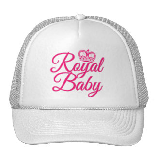 Royal Baby in Pink with Crown Hats