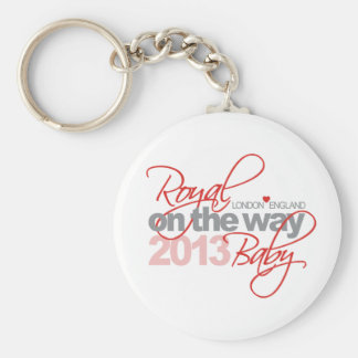 Royal Baby On the Way 2013 Keychains