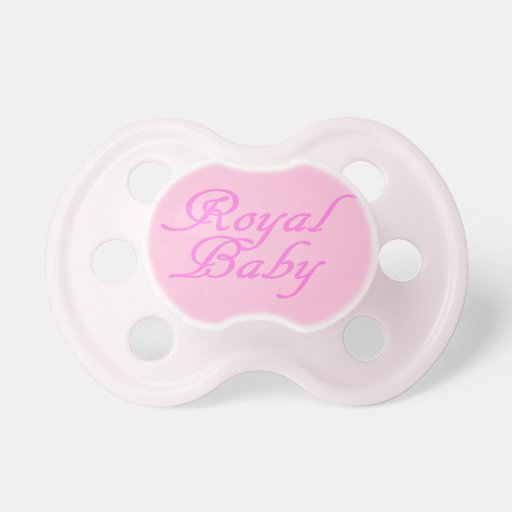 Royal Baby Pink Pacifiers
