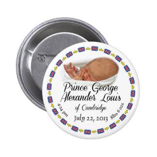 Royal Baby - Prince George Alexander Louis Pinback Button
