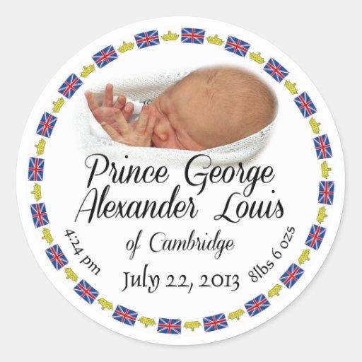 Royal Baby - Prince George Alexander Louis Sticker