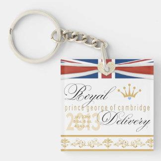 Royal Baby Prince George Commemorative Keychain