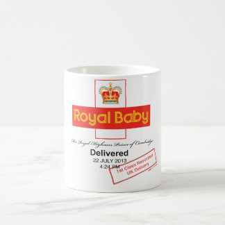 Royal Baby Recorded Delivery Basic White Mug