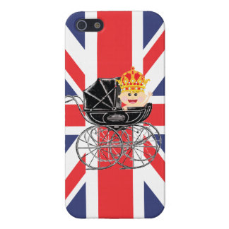 Royal Baby with Crown and Union Jack iPhone 5/5S Case