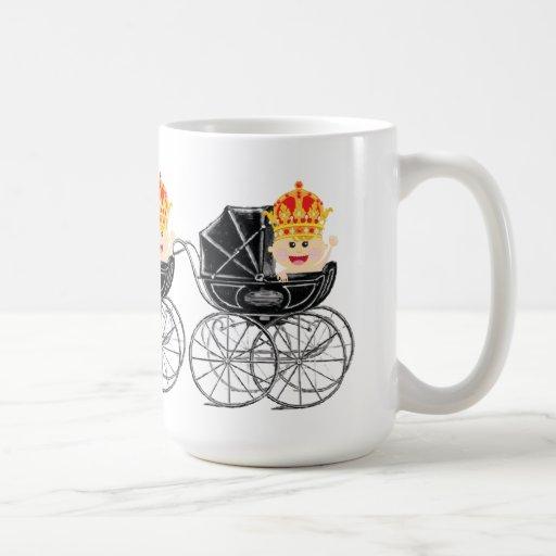 Royal Baby with Crown Coffee tea Mug