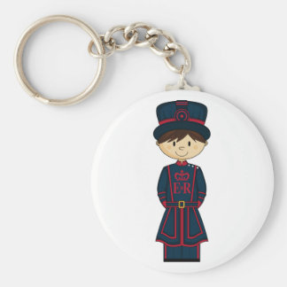 Royal Beefeater Guardsman Keychain