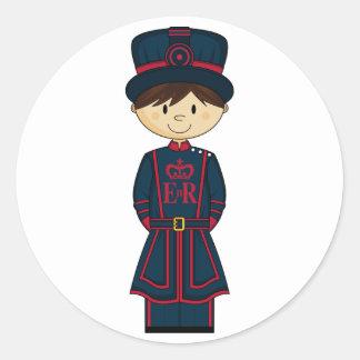 Royal Beefeater Guardsman Sticker