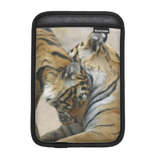 Royal Bengal Tiger and young ones - touching iPad Mini Sleeve