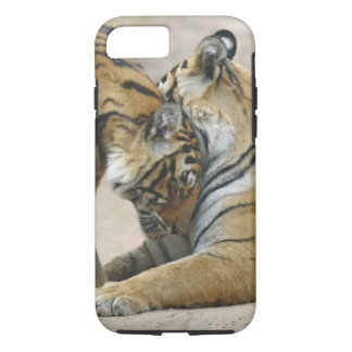 Royal Bengal Tiger and young ones - touching iPhone 7 Case