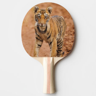 Royal Bengal Tiger cub on the move Ping Pong Paddle