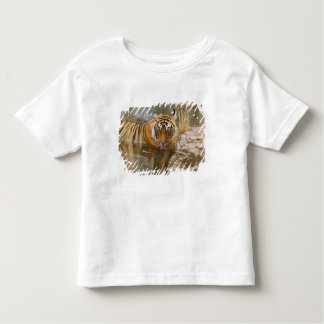 Royal Bengal Tiger drinking in the forest T Shirt