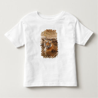 Royal Bengal Tiger in the jungle pond, 2 Toddler T-Shirt