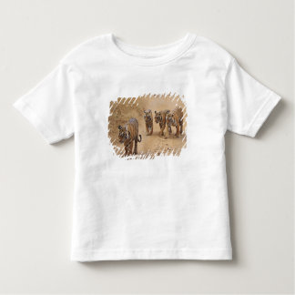 Royal Bengal Tigers on the track, Ranthambhor 8 Toddler T-Shirt
