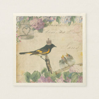 Royal Birds Paper Napkin