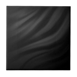 Royal black velvet silk textile elegant chic ceramic tiles
