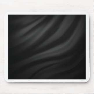 Royal black velvet silk textile elegant chic mouse pads