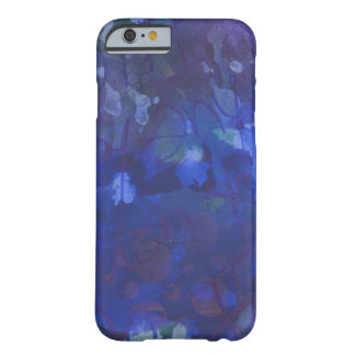 Royal blue abstract barely there iPhone 6 case